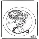Maisterkowanie - Wywieszka na Okno Winx 1
