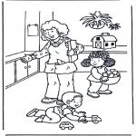 Przedszkolaki - Zabawa zabawkami