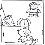 Przedszkolaki - Zabawkowe Kolorowanki 1
