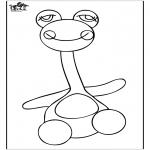 Przedszkolaki - Zabawkowe Kolorowanki 3