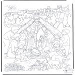 Boze Narodzenie - Zaglądanie do świątecznej szopki