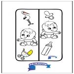 Maisterkowanie - Zakładka -  dziecko