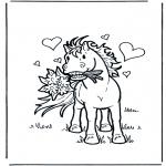 Zwierzęta - Zakochany koń