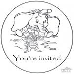 Maisterkowanie - Zaproszenie - Dumbo