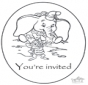 Zaproszenie - Dumbo