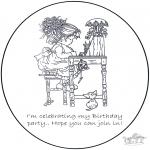 Maisterkowanie - Zaproszenie - Sarah Kay 1