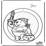 Tematy - Zawieszka na Okno - Halloween 1