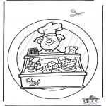 Maisterkowanie - Zawieszka na Okno Piekarz