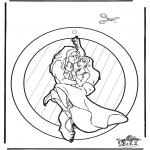 Maisterkowanie - Zawieszka na Okno Tarzan