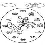 Maisterkowanie - Zegar Królik Bugs