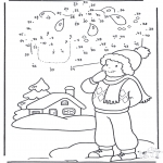 Zima - Zima - Rysunek Cyfrowy 1