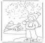 Zima - Rysunek Cyfrowy 1