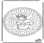 Zimowa - mandala 1