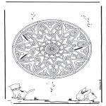 Mandala's - Zwierzęca Geomandala 2
