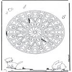 Mandala's - Zwierzęca Geomandala 6