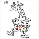 Zwierzęta - Żyrafa 5