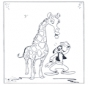 Żyrafa i Goofy